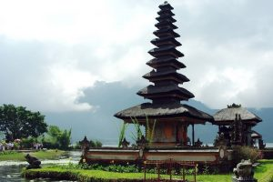A Temple in Indonesia